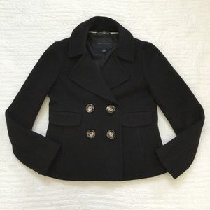 Banana Republic Double Breasted Wool Peacoat